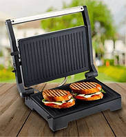 Контактный электрогриль Domotec MS-7708, электрический гриль для овощей, мяса (електрогриль), фото 1