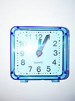 Часы будильник квадратные маленькие 6*6 см, фото 1