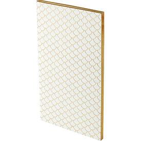 Блокнот, мягкая PU обл., 90x160 мм, 48 л., Scale, белый