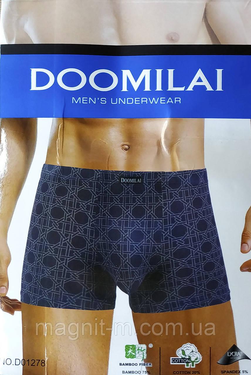 Мужские боксеры Doomilai. Бамбук + Хлопок. D01278.