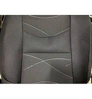 Авто чехлы ВАЗ 2108- 2115, Нива Тайга, Matiz, Cherry QQ, на узкие сидения, черно-серые Автосвіт