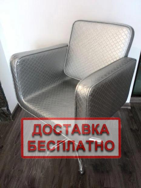 Перукарське крісло на гідравліці для перукарень JUSTINE крісла для перукарів салону краси
