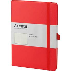 Записная книга блокнот Axent Partner Prime 145x210мм 96л точка,красный (8304-06-A)