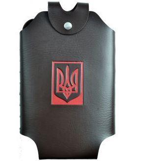 Чохол для фляги (Шкіра) Герб України А