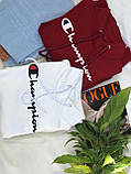 Худи женский теплый на флисе. Цвет: белый, черный, хаки, розовый, марсала, красный. Размер: 42-48., фото 8
