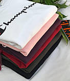 Худи женский теплый на флисе. Цвет: белый, черный, хаки, розовый, марсала, красный. Размер: 42-48., фото 5