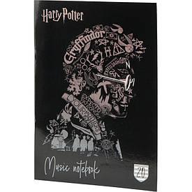 Тетрадь для нот Kite Harry Potter А4, 20 л микс 4 обложки (HP20-404-2)