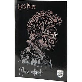 Зошит для нот Kite Harry Potter А4, 20 л мікс 4 обкладинки (HP20-404-2)