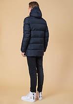 Подросток 13-17 лет | Куртка зимняя Braggart Teenager 71293 темно-синяя, фото 3
