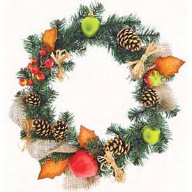 """Вінок Yes! Fun Різдвяний з прикрасою """"Зимовий ліс"""""""