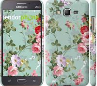 """Чехол на Samsung Galaxy Grand Prime G530H Цветочные обои 2 """"862c-74"""""""