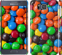 "Чехол на Samsung Galaxy Alpha G850F M&M's ""1637c-65"""