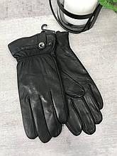 Мужские кожаные перчатки 1-936