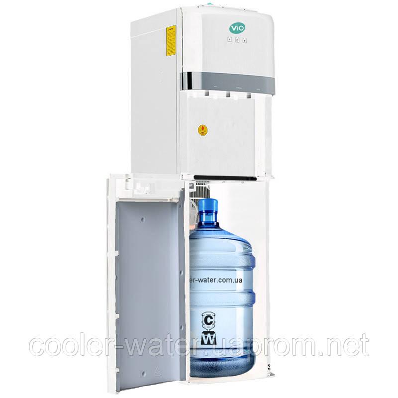 Кулер для воды напольный с нижней загрузкой ViO X601-FCB White Электронный