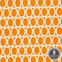 Robert Kaufman Remix Owal Tangerine | 100% Хлопок США