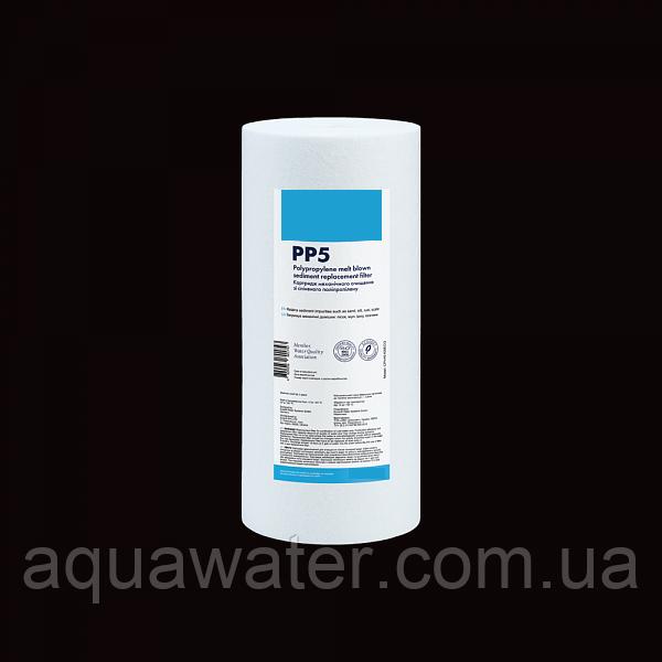 """Картридж из вспененного полипропилена Aqua Water 4,5""""x10"""" 5 мкм"""