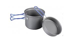 Кастрюля-кружка с крышкой-сковородкой Tramp TRC-039 0,9 л