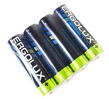 Батарейки Ergolux AAA LR03 4 шт