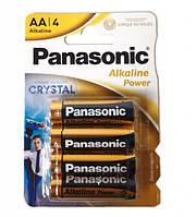 Батарейки 4 шт Panasonic AA LR6 Alkaline Power