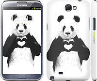 "Чехол на Samsung Galaxy Note 2 N7100 All you need is love ""2732c-17"""