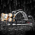 Налобный фонарь TRLIFE BL254 Мощный+ИК Датчик движения+Зум, фото 4