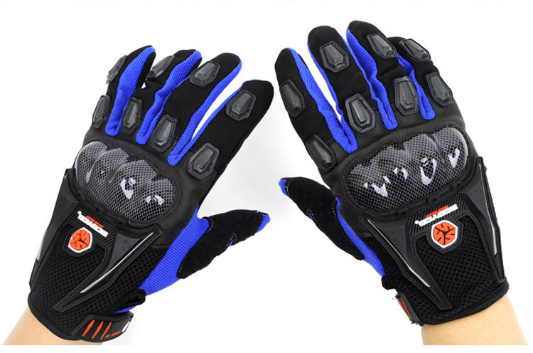 Мотоперчатки Scoyco MC09 Blue