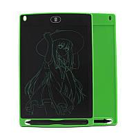 """Детский графический Планшет для рисования и заметок 8.5"""" LCD Writing Tablet Зеленый"""