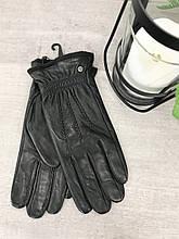 Мужские сенсорные кожаные перчатки 3-938