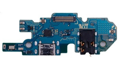 Шлейф (flex cable) для Samsung A105 Galaxy A10 с разъемом зарядки, гарнитуры и микрофоном