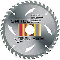 Диск пиляльний 200х32 (перехідник 32/30мм) 48Т для ламінату SPITCE