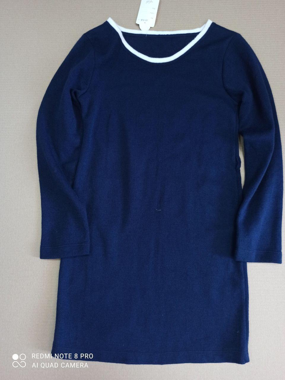 Платье подросток, вязаное, размер М, на рост 152 (СКЛАД)