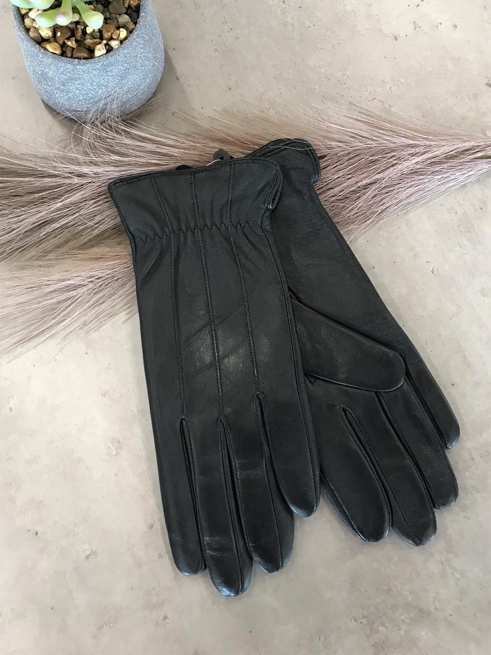 Женские кожаные сенсорные перчатки 1-941