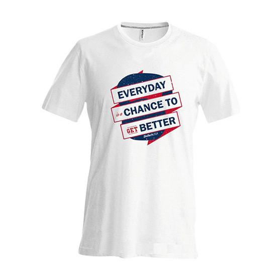 Футболка BioTech T-Shirt Kettlebell polo Feher (Размер L)