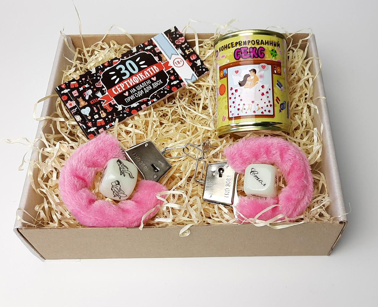 """Подарочный набор игра для взрослых """"Сладкая парочка (эротические задания)"""" - игра-подарок для взрослых"""