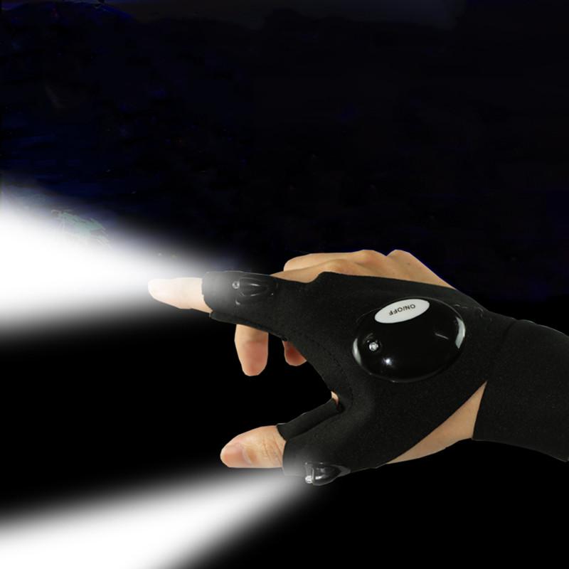 Перчатка-фонарик