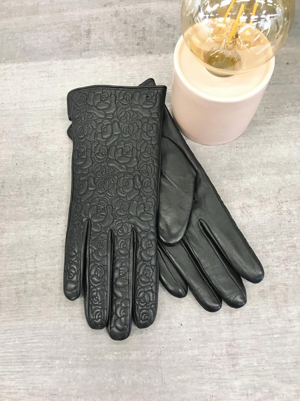 Женские кожаные сенсорные перчатки 1-947s2
