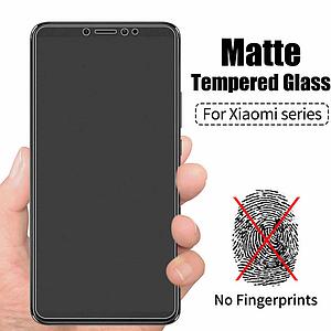 МАТОВЕ скло для Huawei P20 / EML-L21 захисне скло на хуавей п20 чорне антиблікове без відбитків пальців