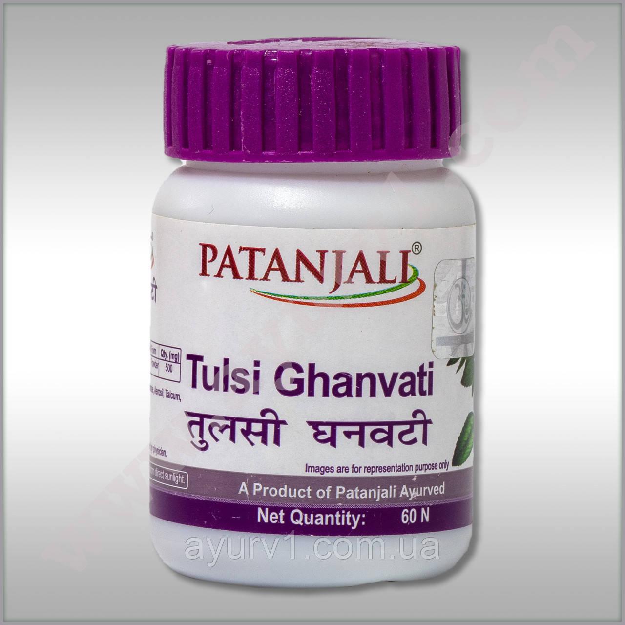 Тулси Гханвати- Патанжали, Tulsi Ghanvati Patanjali 60 tab