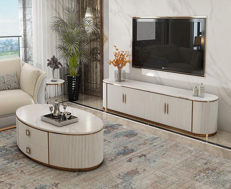 Набор мебели. Столик, тумба под телевизор. Модель 6-743