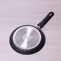 Сковорода блинная Kamille 22 см с антипригарным покрытием для индукции, фото 2