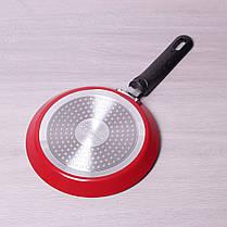 Сковорода блинная Kamille 22 см с антипригарным покрытием для индукции, фото 3