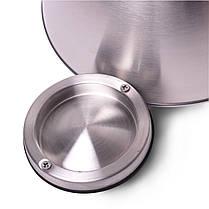 Чайник Kamille 3 л из нержавеющей стали со свистком для индукции, фото 2