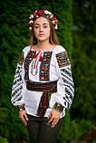 Традиційна вишиванка під стиль часів наших предків, актуальна століттями «Квітковий поясок», фото 9