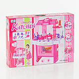 Детская кухня 008-26 подсветка, звук, на батарейке, фото 3