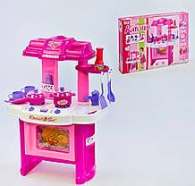 Дитяча кухня 008-26 підсвічування, звук, на батарейці