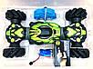 Машинка Champions с управлением жестом руки перевертыш 40 см зеленая, фото 5
