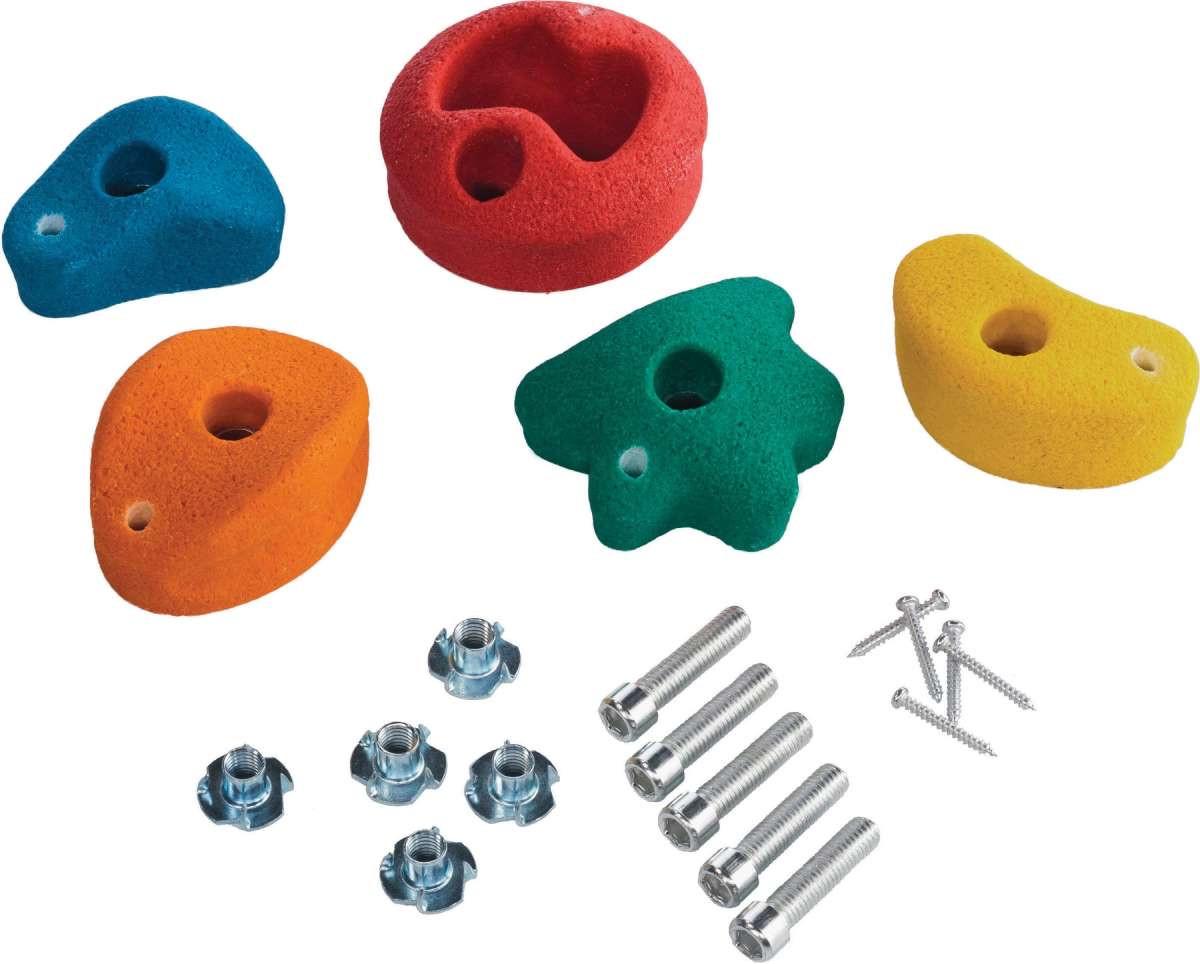 Набор зацепов для скалодрома M-размер, 5 штук