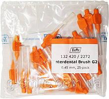 Межзубные ершики TePe ID Bürste Orange 0.45mm (25 шт)