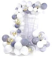Комплект для создания арки из воздушных шаров (100 шт) 014
