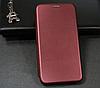 Чехол-книжка Level для Samsung Galaxy S10 Lite Marsala (самсунг галакси с10 джи770)